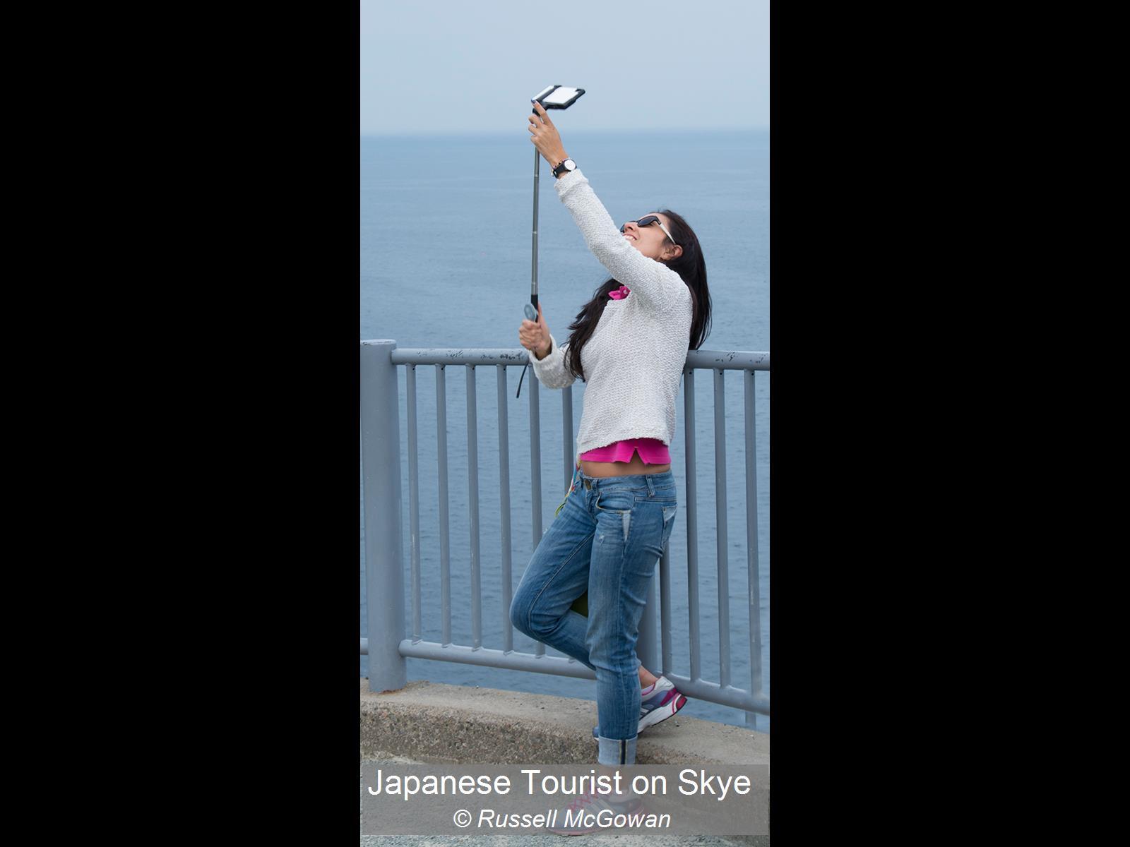 Russell McGowan_Japanese Tourist on Skye