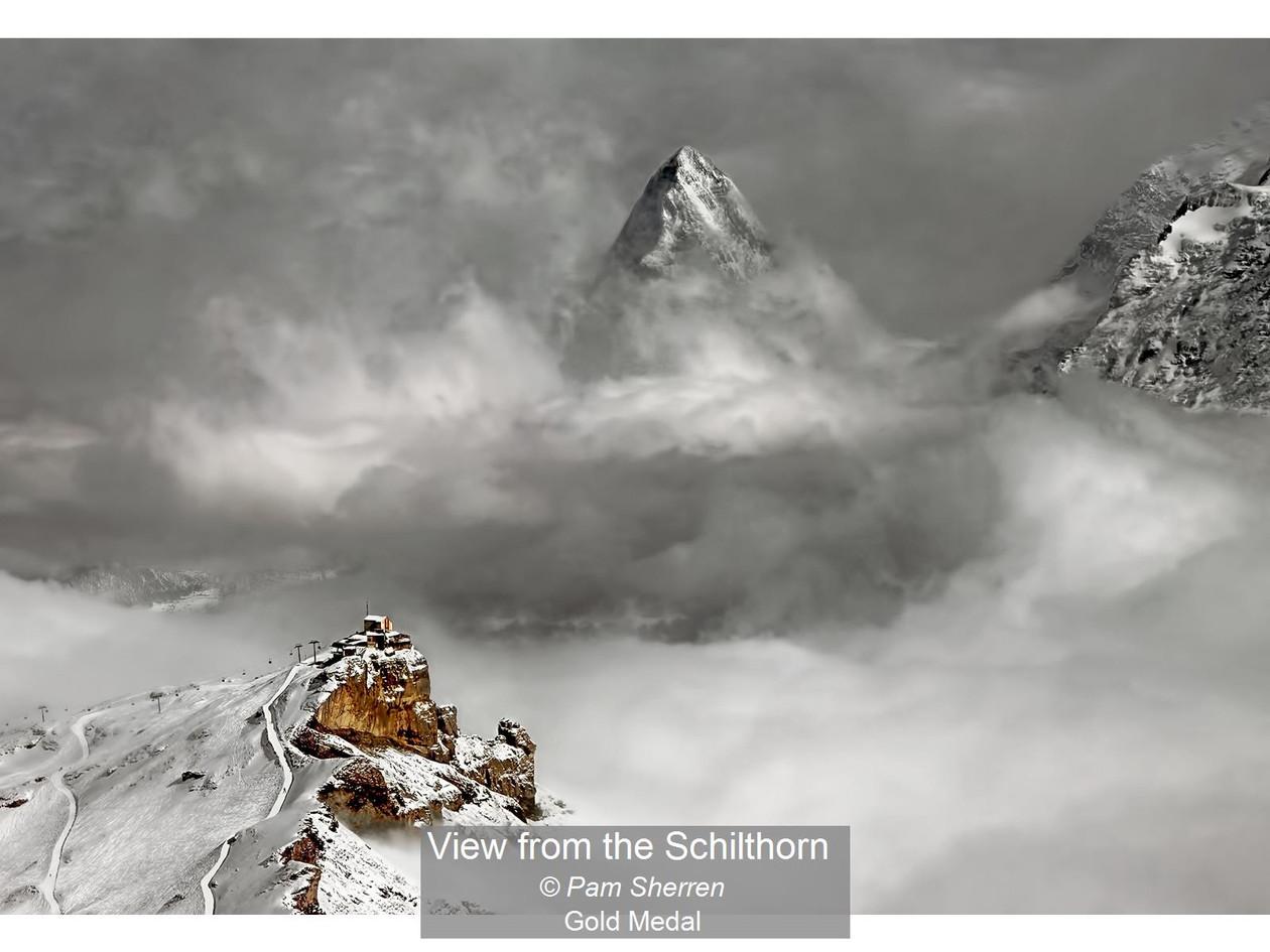 View from the Schilthorn_Pam Sherren_Gol