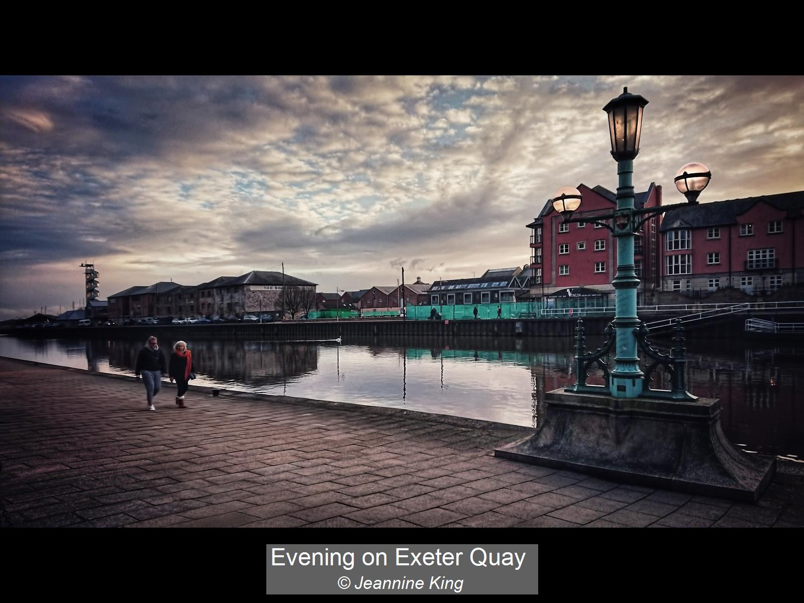 Jeannine King_Evening on Exeter Quay_Non