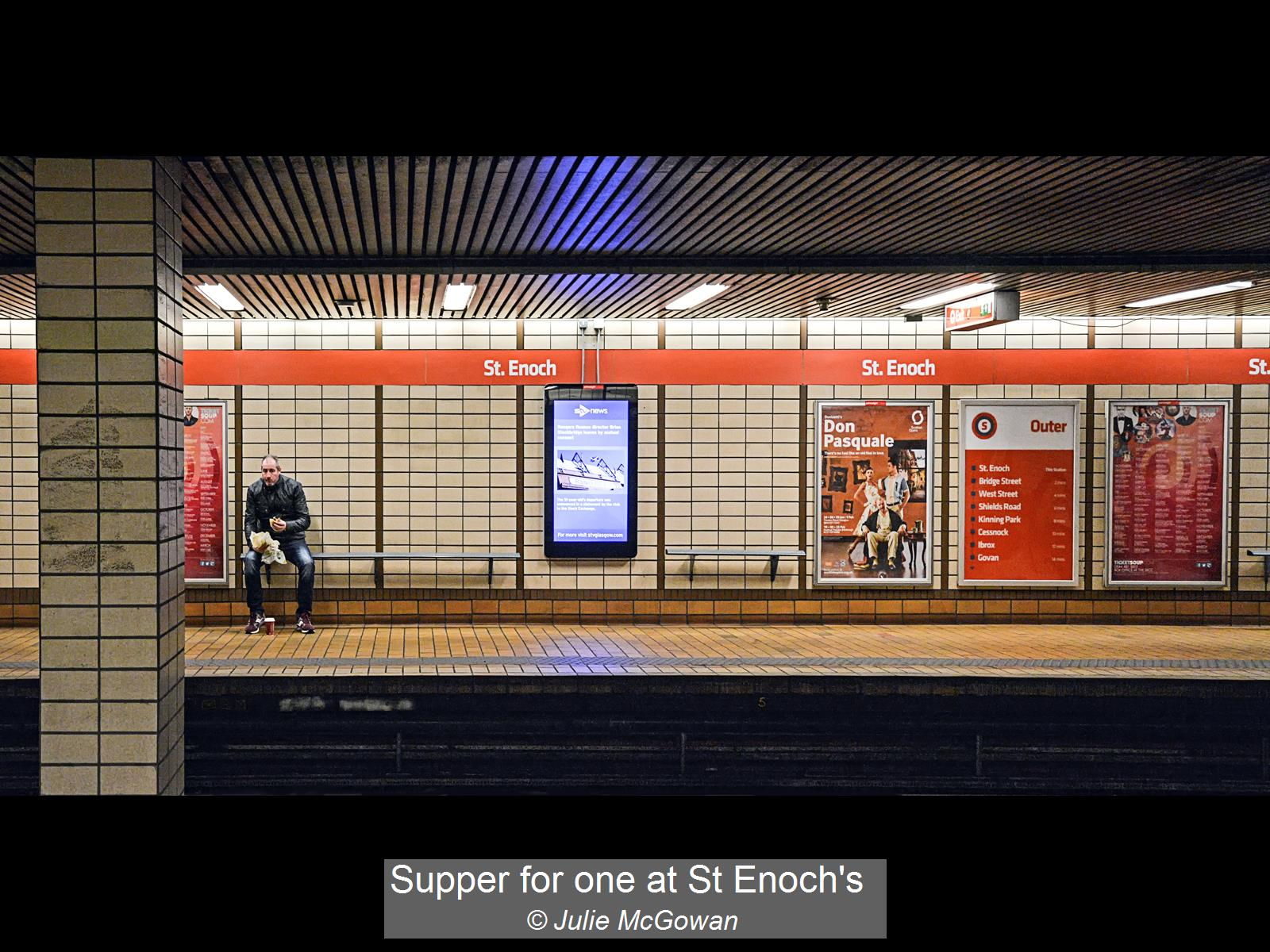 Julie McGowan_Supper for one at St Enoch