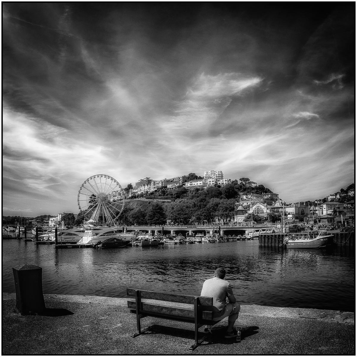 Roger Edwardes_Enjoying the View-Torquay