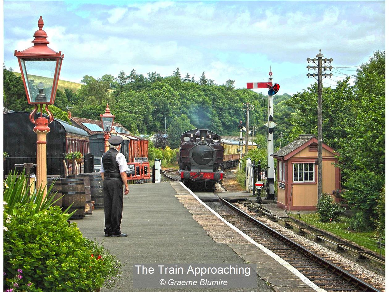 The Train Approaching_Graeme Blumire.jpg