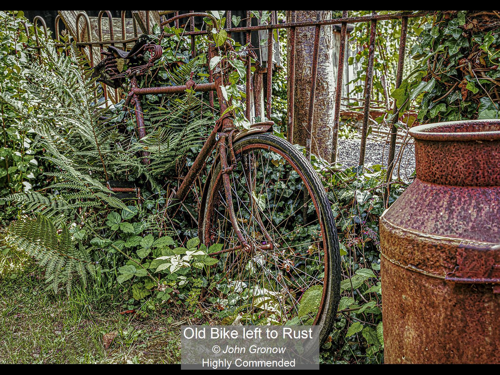 Old Bike left to Rust_John Gronow_HComm.