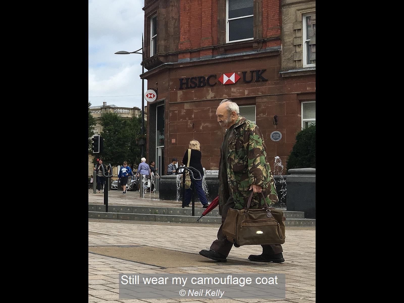 Neil Kelly_Still wear my camouflage coat