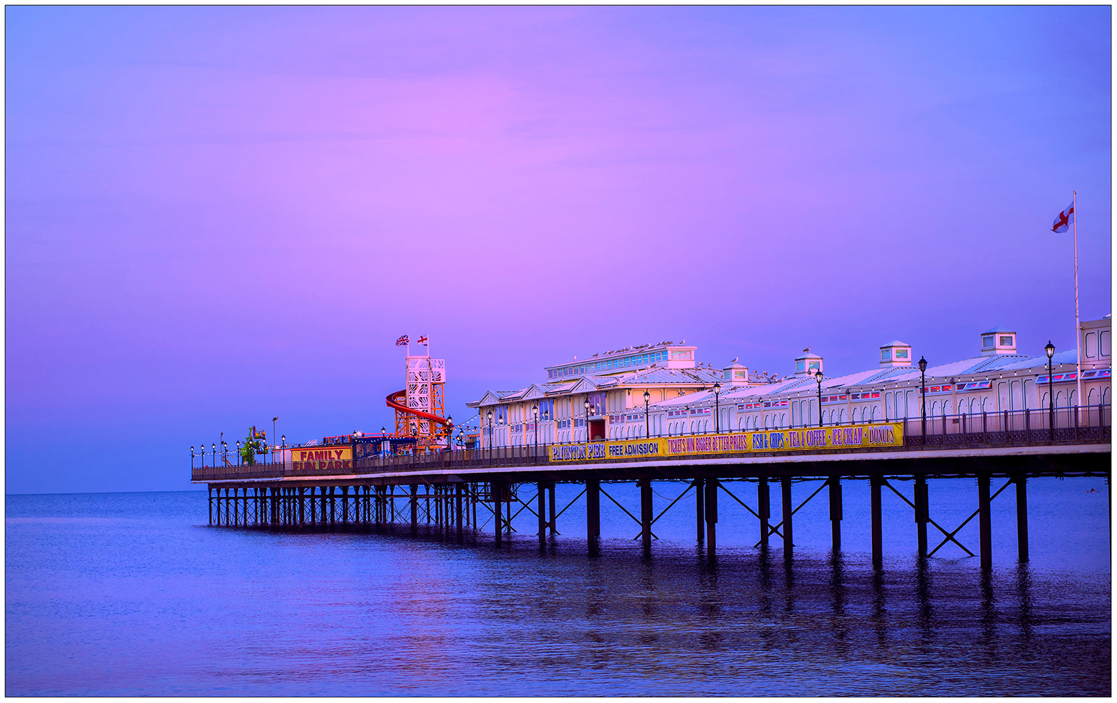 Peter Jeffery_Paignton Pier_Bronze