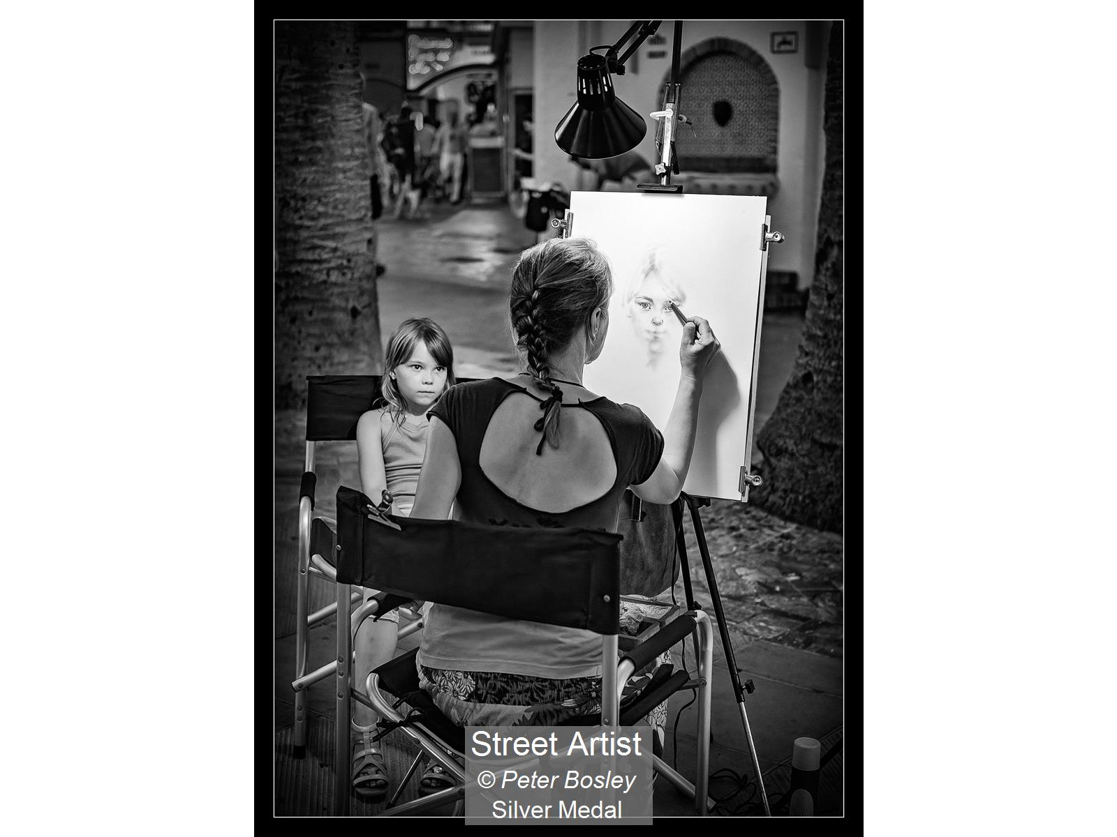 Street Artist_Peter Bosley_Silver