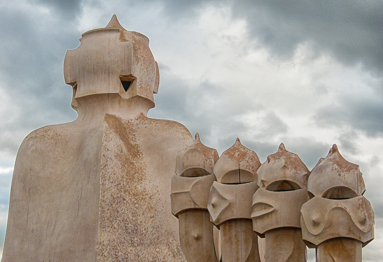 Russell McGowan_Gaudi Chimneys_