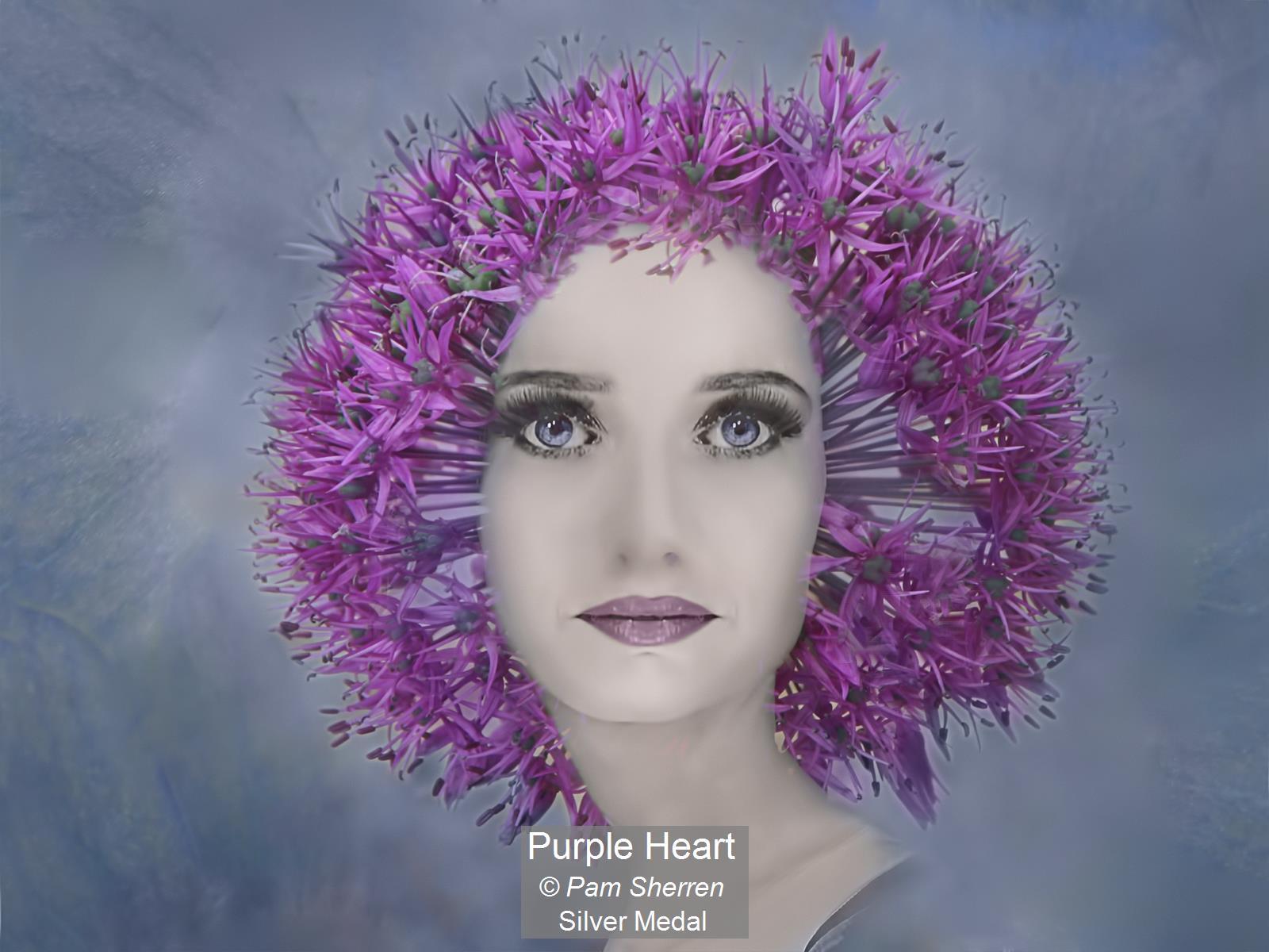 Purple Heart_Pam Sherren_Silver