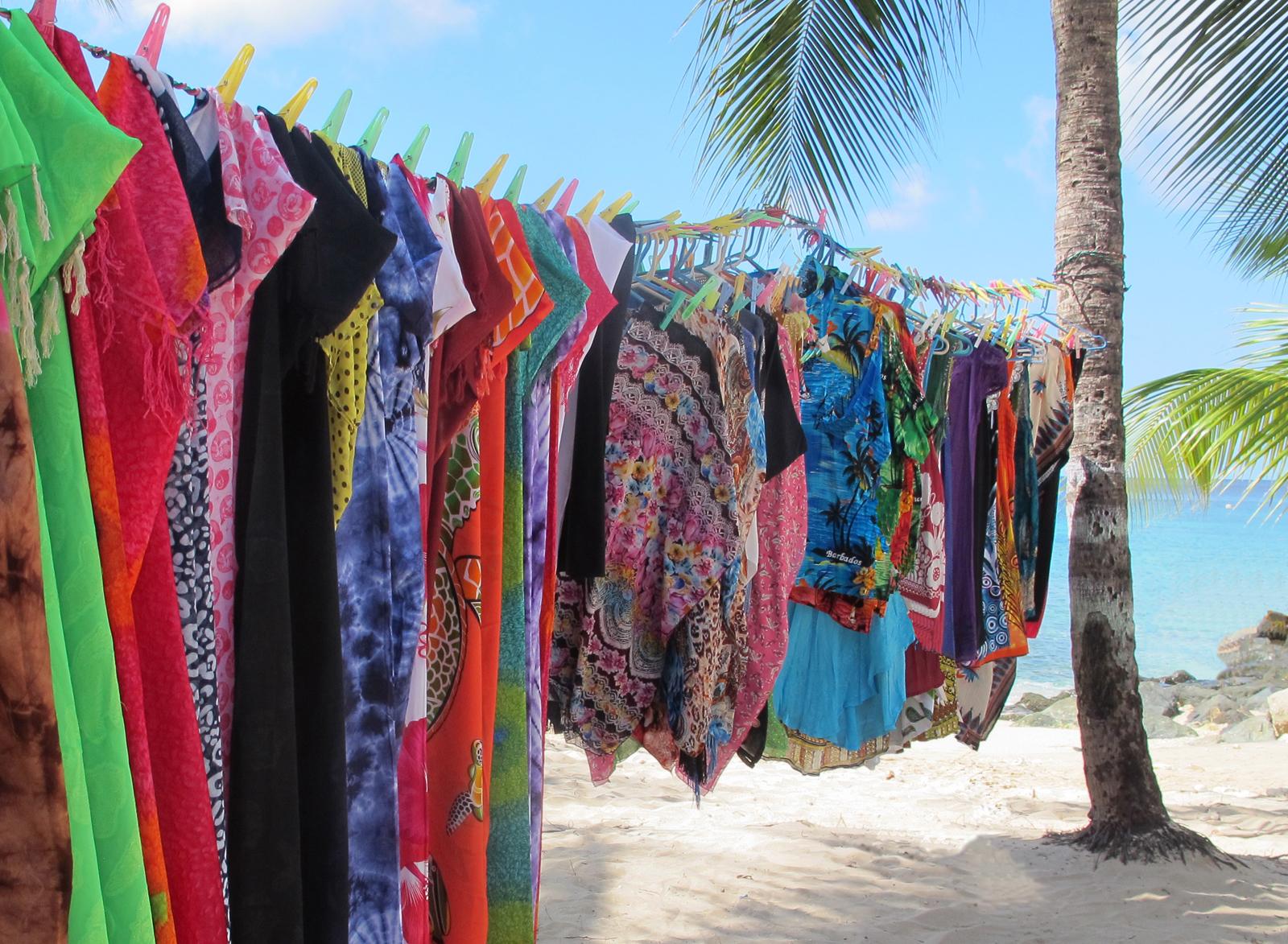 Doreen McLean_Shopping on the beach_None