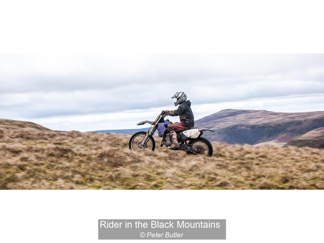 Rider in the Black Mountains_Peter Butle