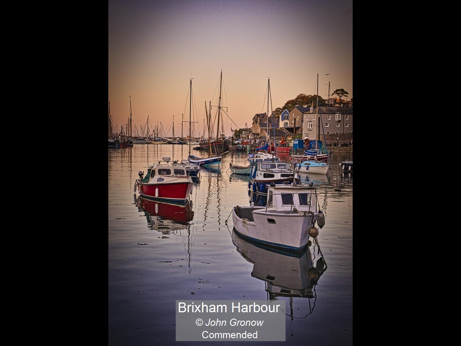 Brixham Harbour_John Gronow_Comm