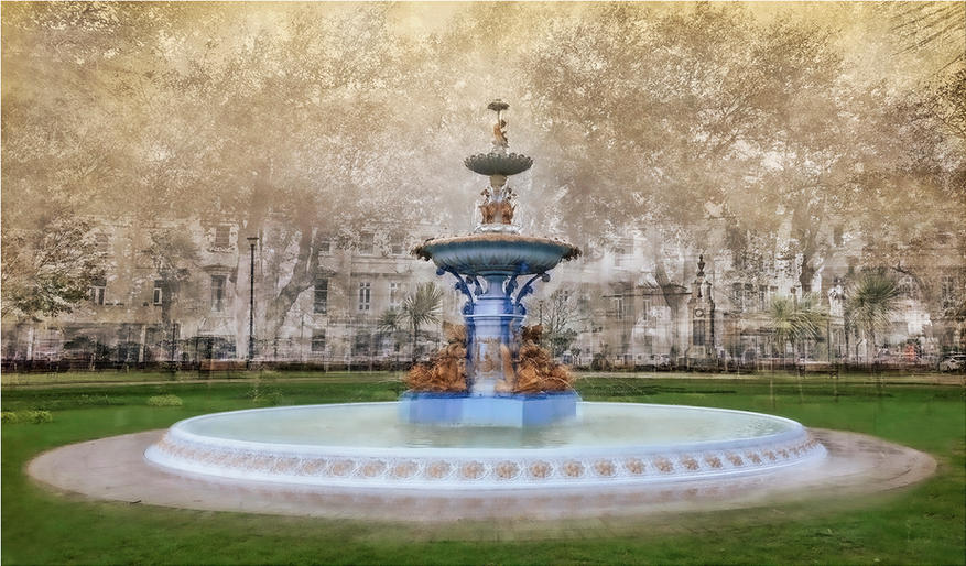 Peter Bosley_Impressions of a Blue Fountain