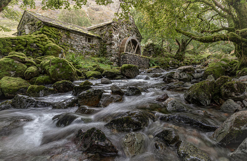 HC_Jan Lunn_The Mill on Coombe Gill