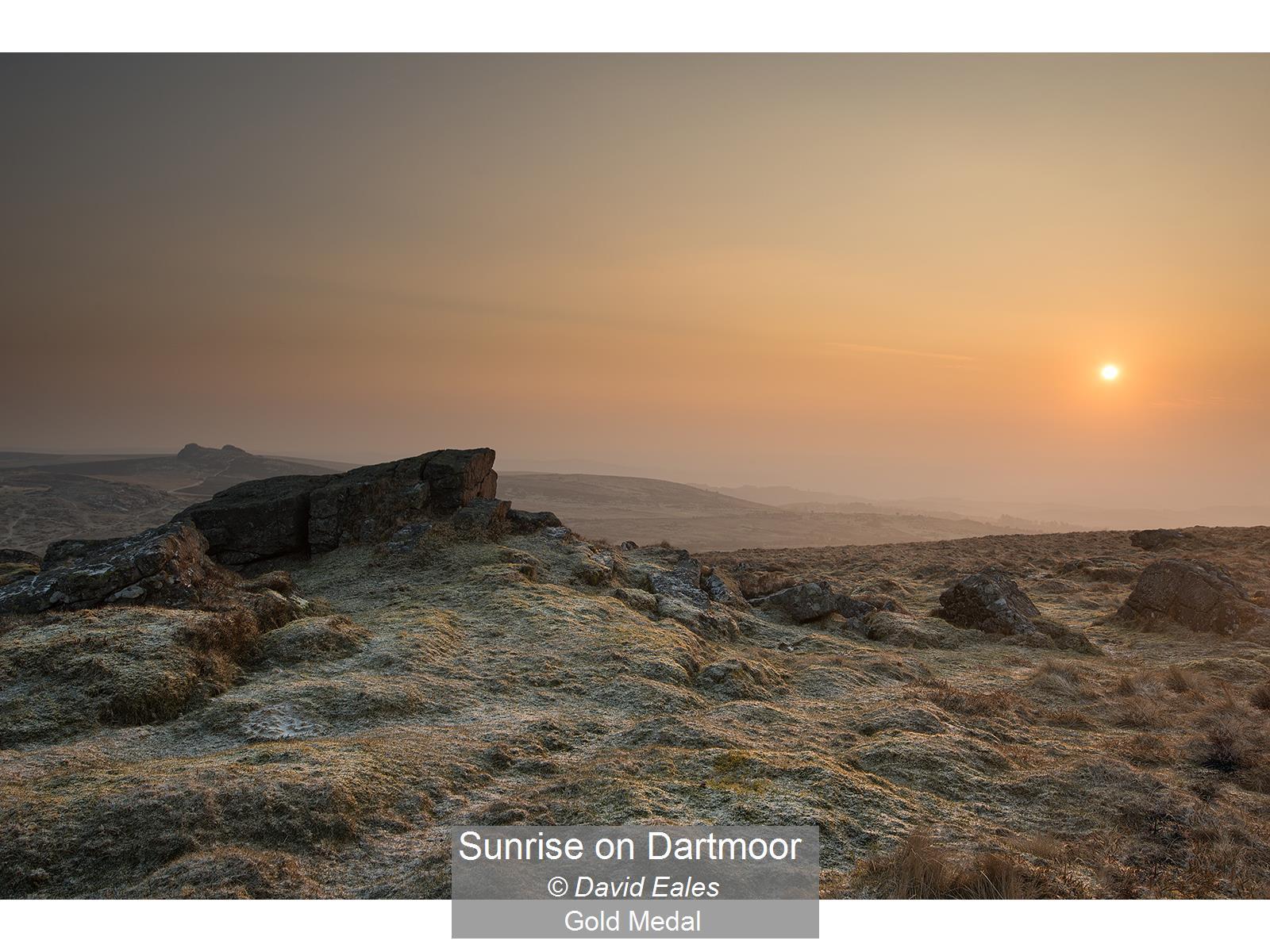 Sunrise on Dartmoor_David Eales_Gold