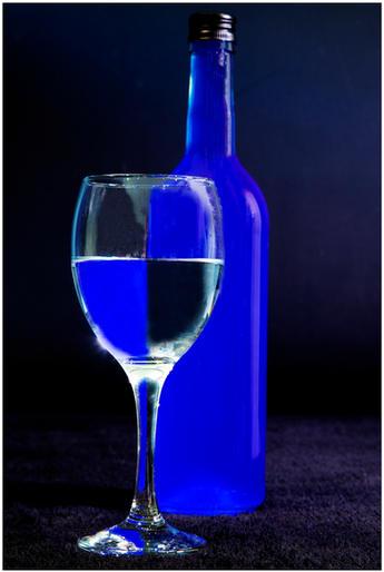 Mark Jeffery_Blue wine