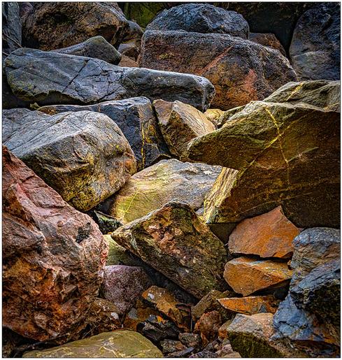 Peter Jeffery_Shapes of Rock