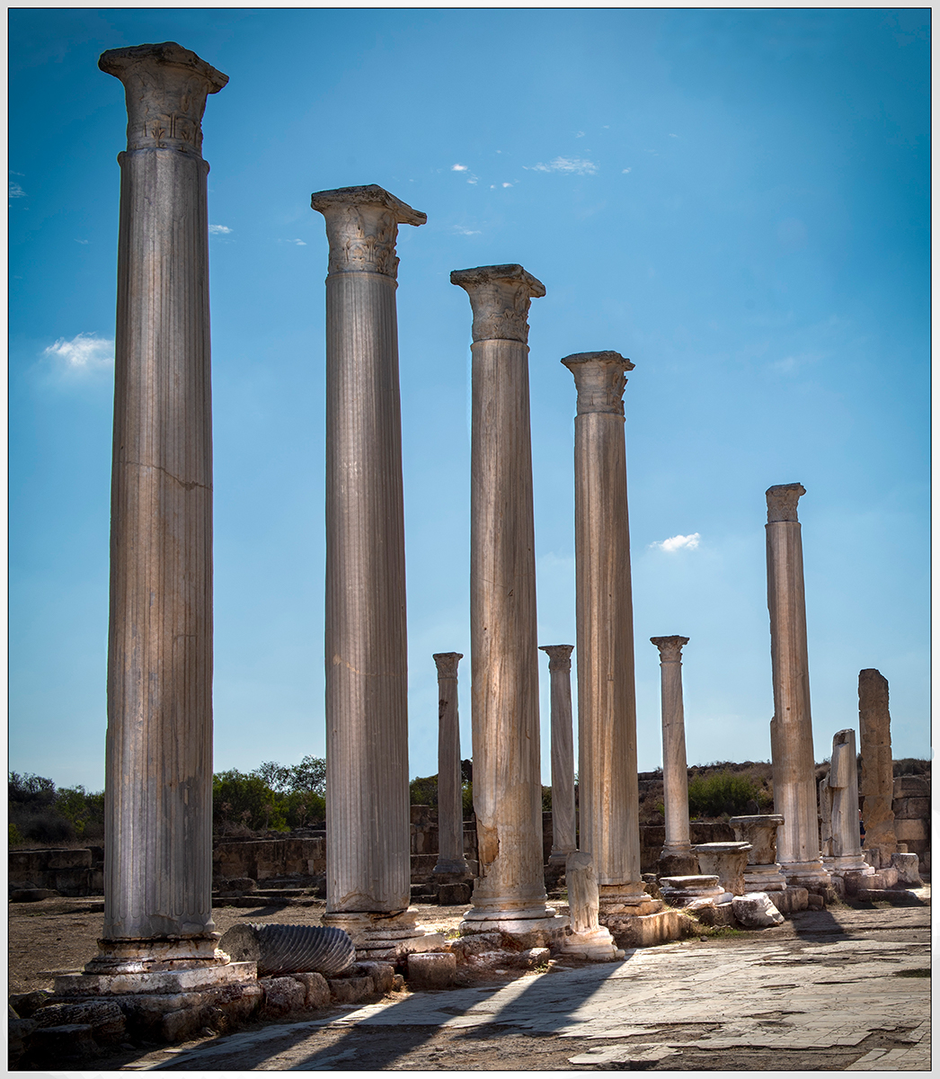 Peter Jeffery_Roman Pillars_
