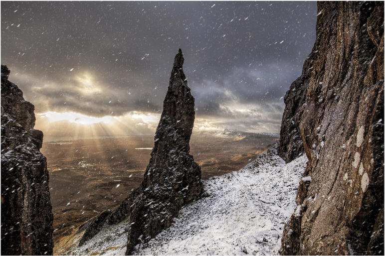 Peter Bosley_Snow Flurry at the Needle