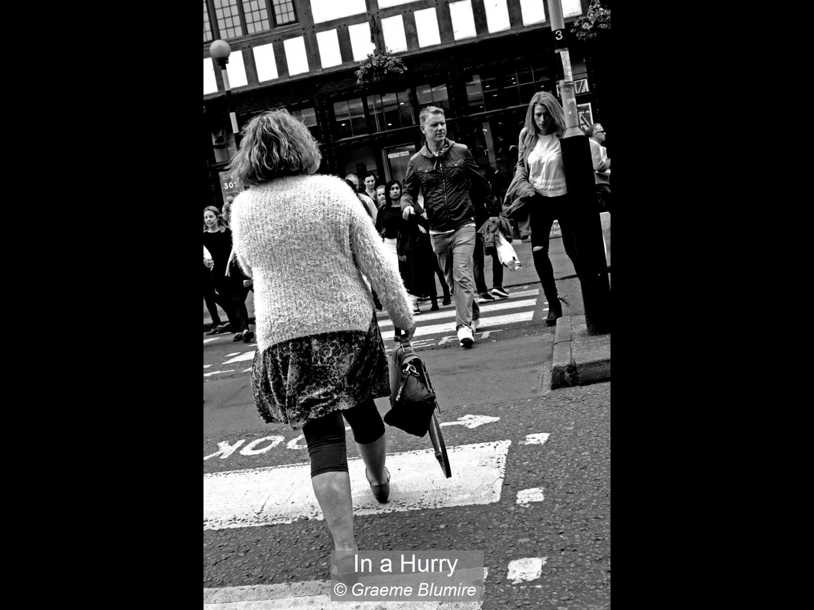 Graeme Blumire_In a Hurry_None