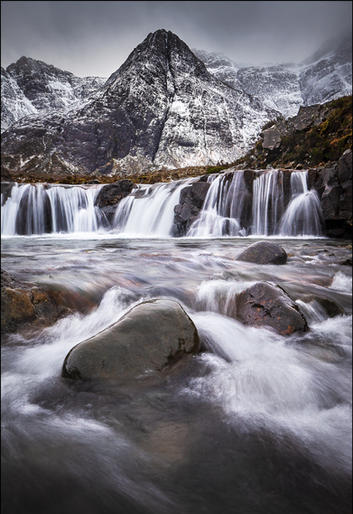 Comm_Peter Bosley_It's driech at Fairy Pool at