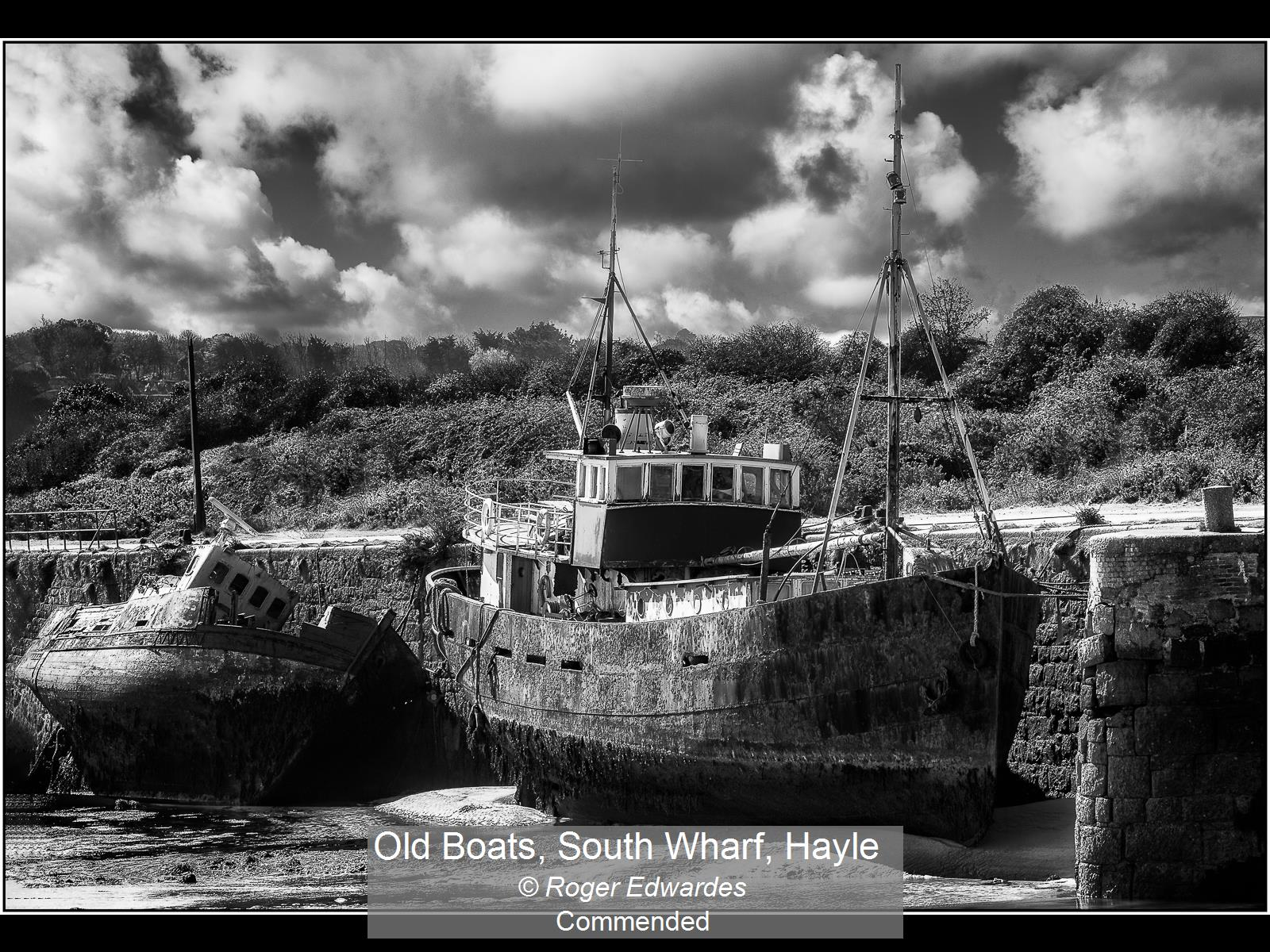 Old Boats, South Wharf, Hayle_Roger Edwa