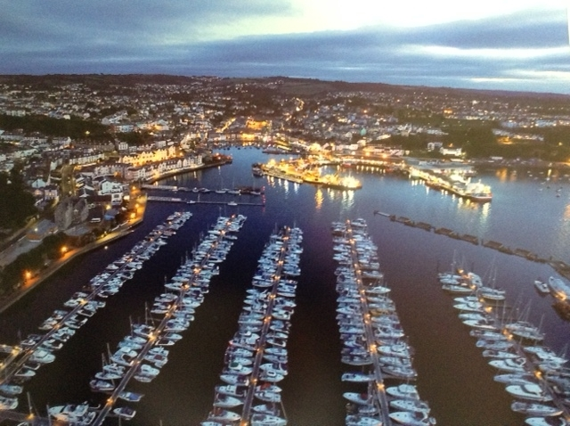 Mark Jeffery_Arial View of Brixham_None.