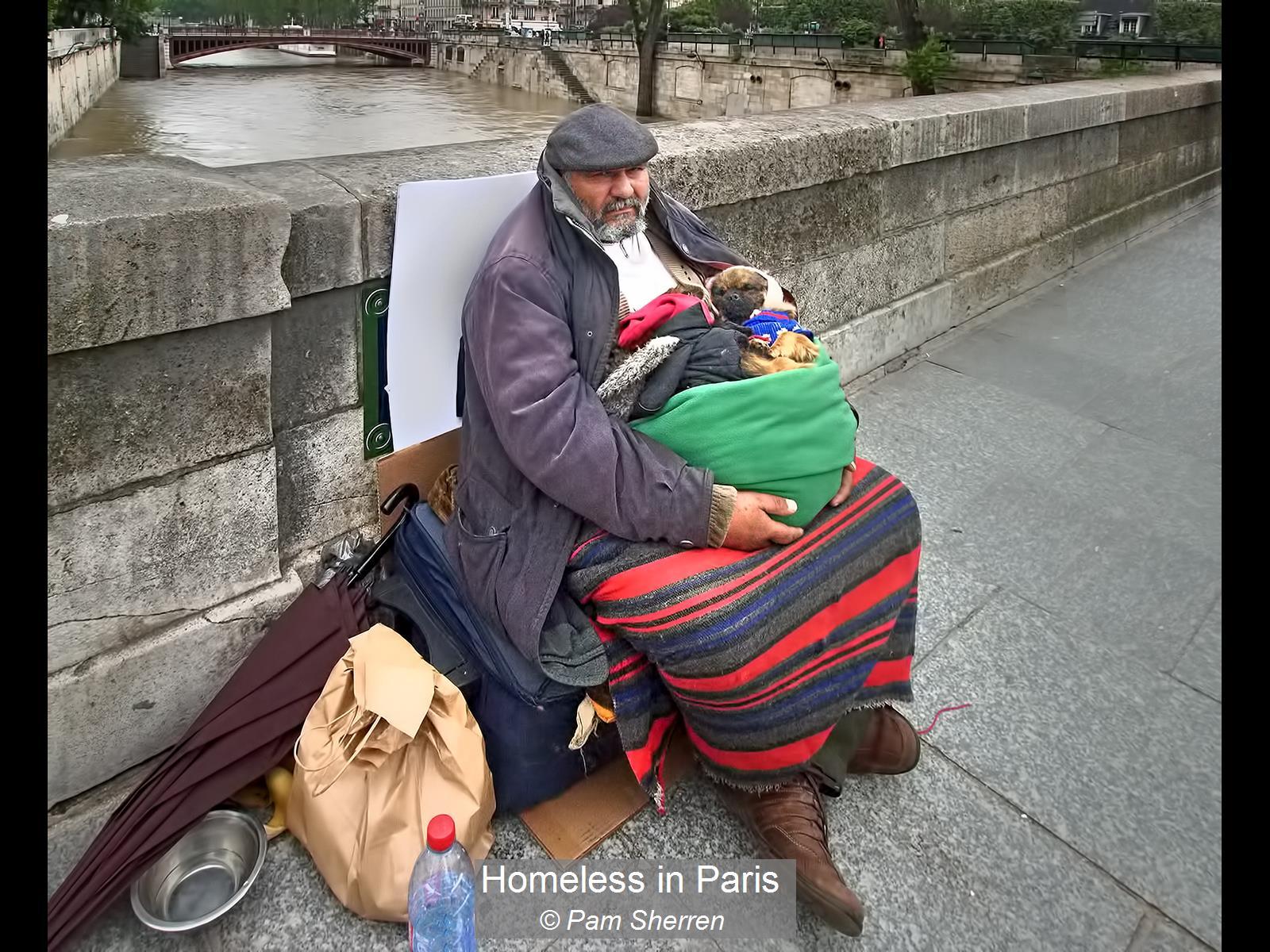 Pam Sherren_Homeless in Paris_None