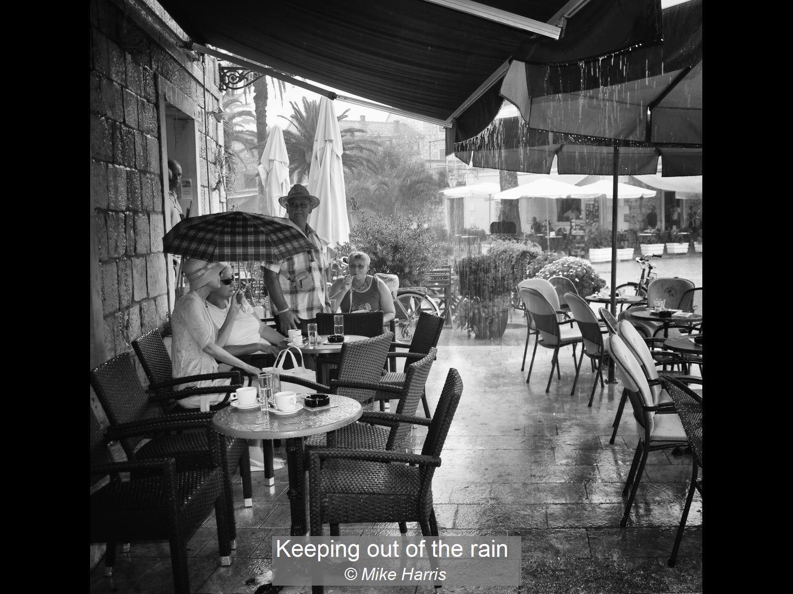 Mike Harris_Keeping out of the rain_None