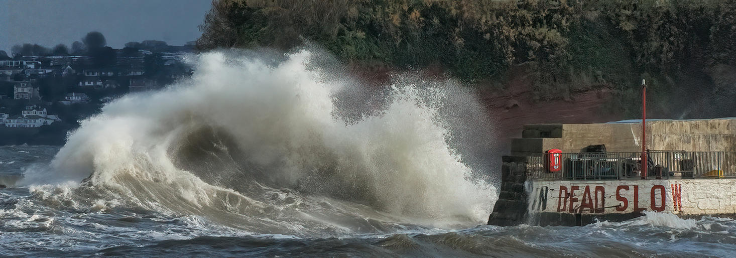 Russell McGowan_Paignton Harbour Under Attack