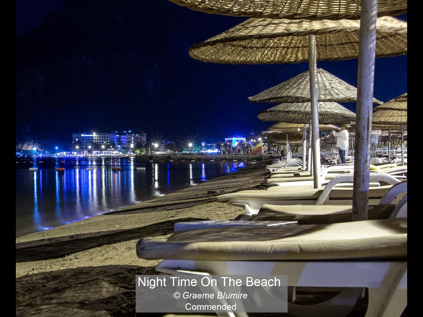 Night Time On The Beach_Graeme Blumire_C