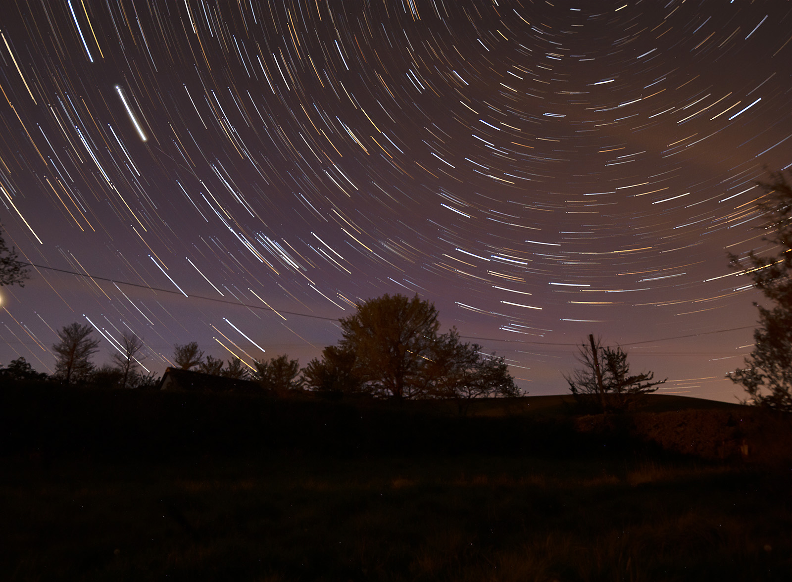 Star Trails_Jan Lunn_Commended