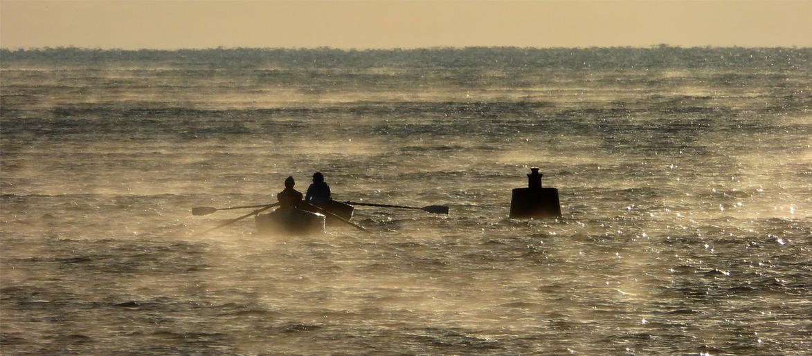 Peter Hawtin_Early rowers