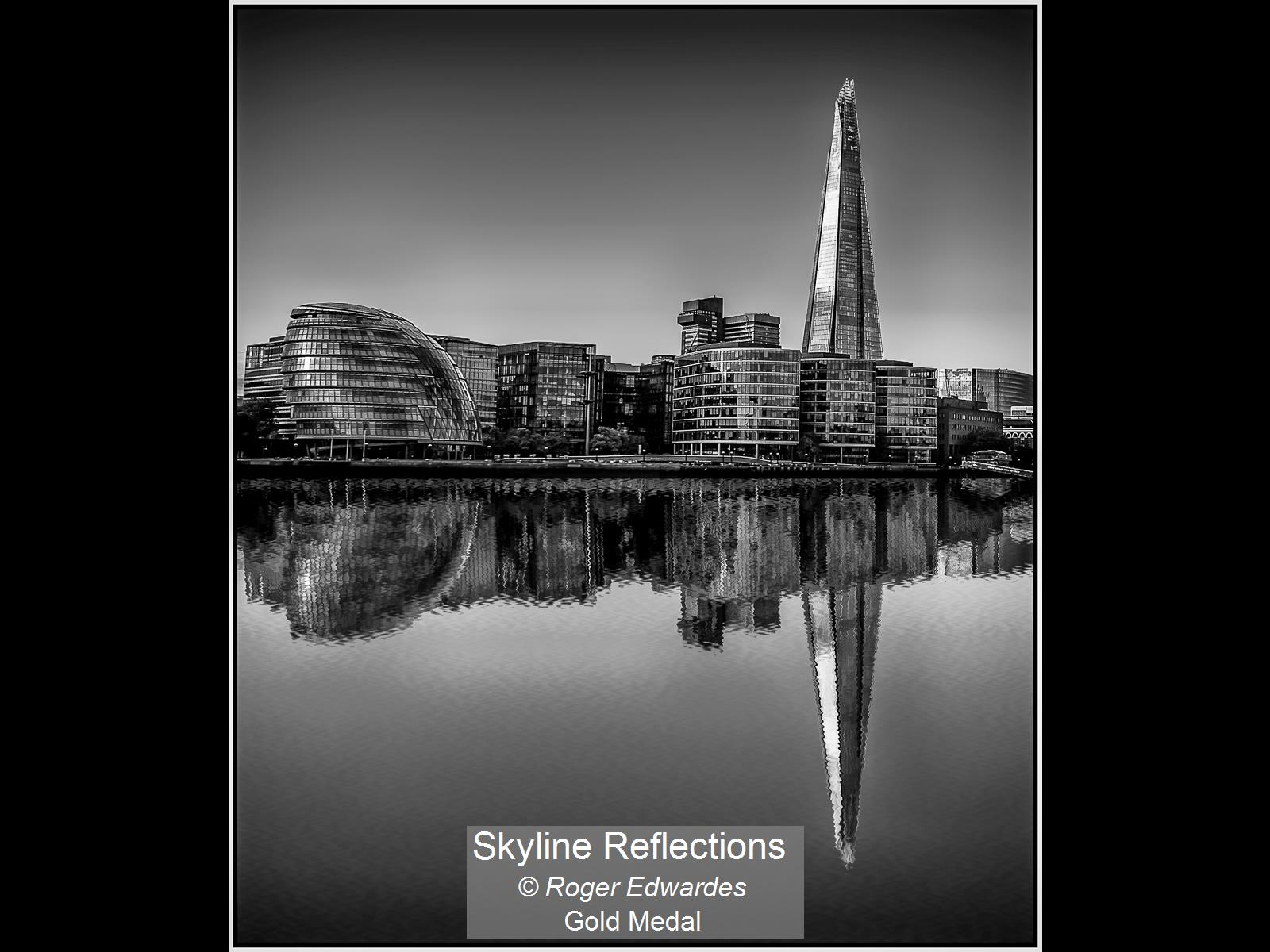 Skyline Reflections_Roger Edwardes_Gold.