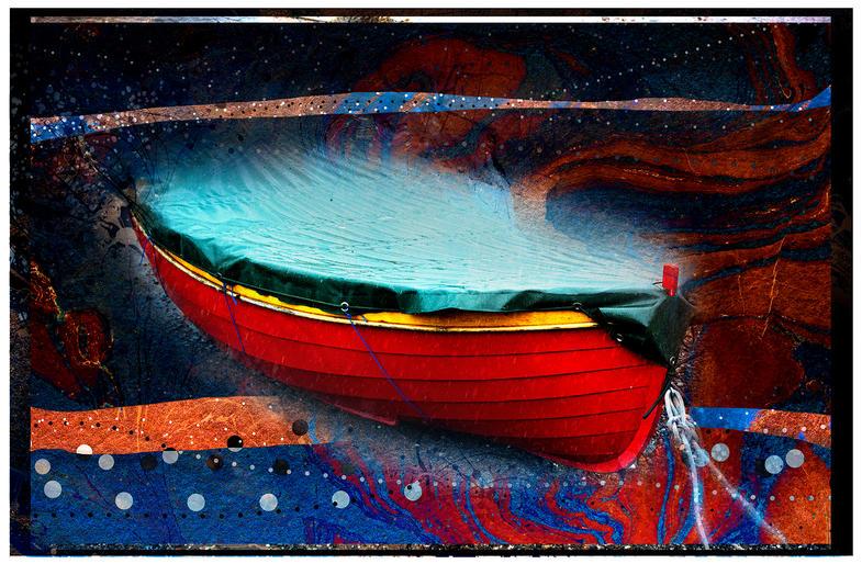 Peter Jeffery_Red Boat
