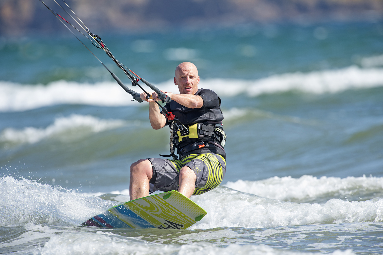 David Eales_Kite surfer_Silver