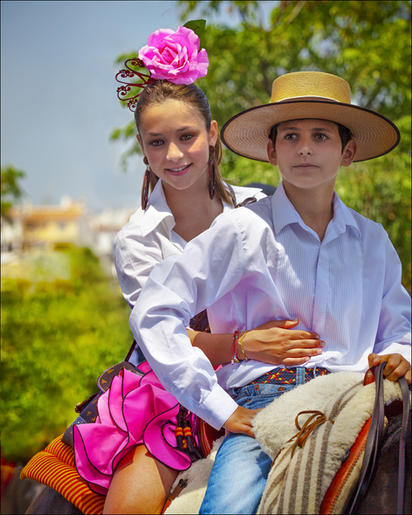 Peter Bosley_Going to the Feria