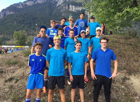 Kantonales Fussballturnier Domat/Ems