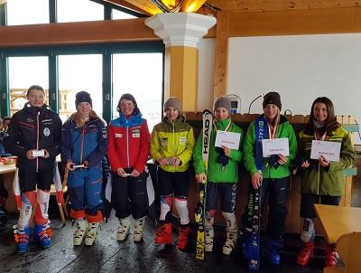 RC 3 Girls U14 Slalom, 1. Liara Florin, 2. Sina Fausch