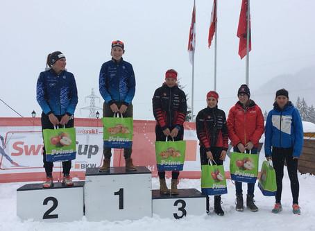 Nina Putzi: Sieg im Sprint ihres ersten Swiss Cups