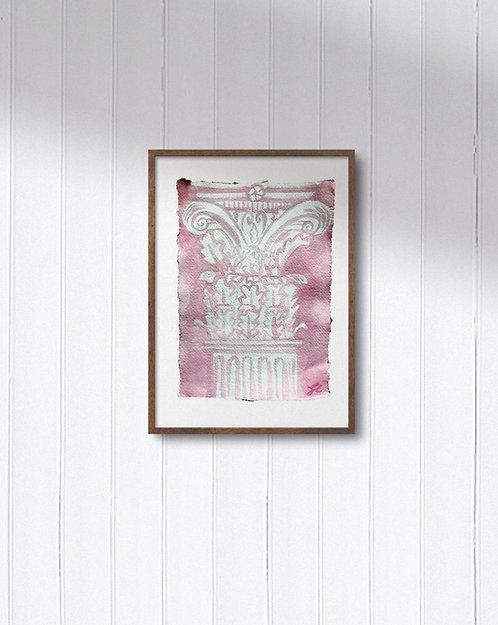 One-of-a-kind:Pink Corinthian Column