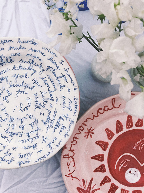 Astronomical Love Plate