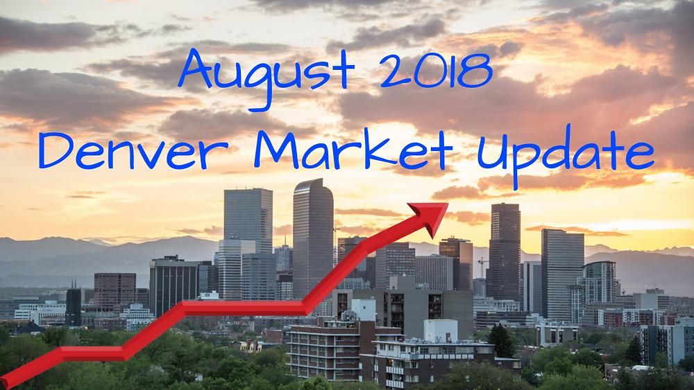 Denver Real Estate Market Update August 2018