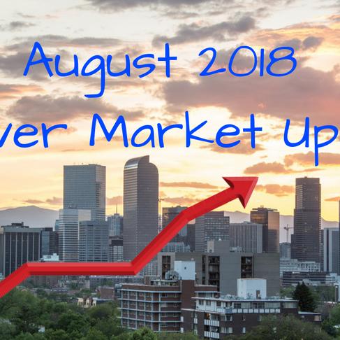 Denver Real Estate Market Update -August 2018