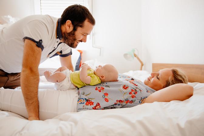 sénace famille avec bébé