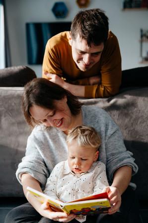 sénace famille à la maison