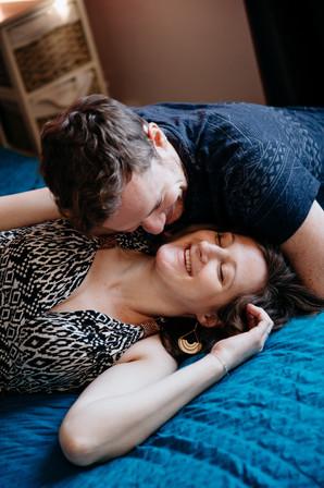 séance ventre rond en couple