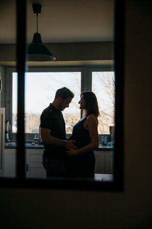 grossesse en contre jour