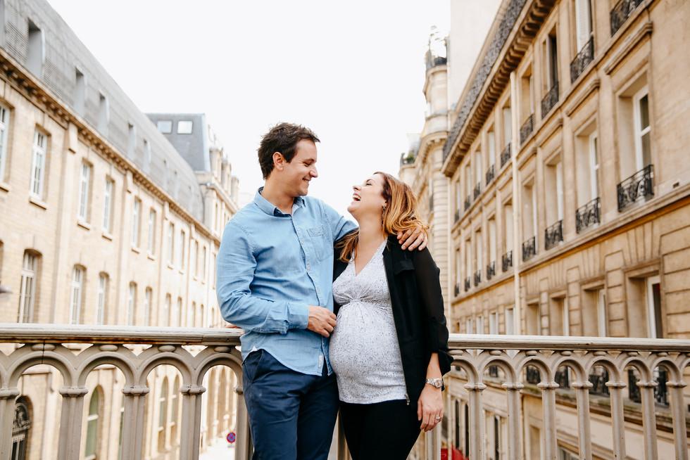 séance grossesse en ville