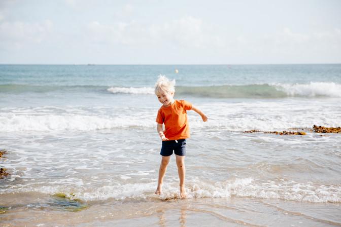 séance photo à la plage bretagne