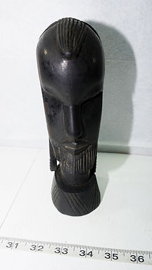 African Hand Carved Head